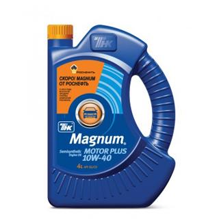 Изображение товара ТНК Magnum Motor Plus SAE 10W40  п/с, 4л