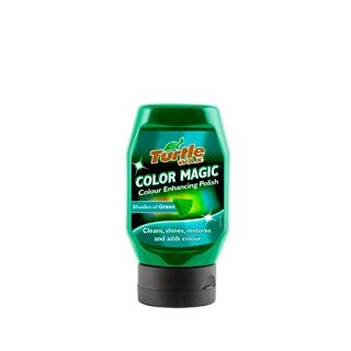 Изображение товара Полироль Turtle Wax Color Magic темно-зеленый (300мл)