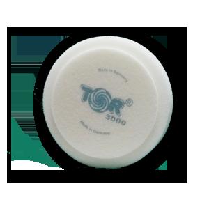 Изображение товара Диск полировальный TOR D150мм*30мм белый на липучке экстра жёсткий