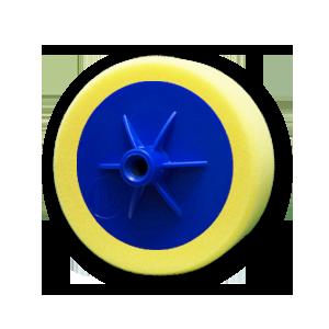 Изображение товара Диск полировальный TOR D150мм*50мм жёлтый на подошве универсальный