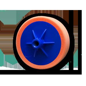 Изображение товара Диск полировальный TOR D150мм*50мм оранжевый на подошве универсальный
