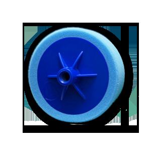 Изображение товара Диск полировальный TOR D150мм*50мм синий на подошве мягкий