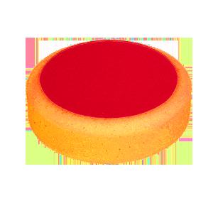 Изображение товара gubka-polirovalnaya-novol-d150mm--50mm-oranzhevaya-na-lipuchke-sredney-zhyostkosti