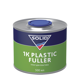 Изображение товара Грунт 1К для пластика SOLID PLASTIC FULLER (0.5л)