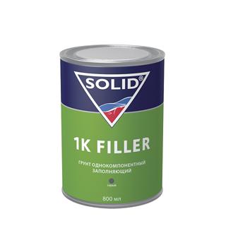 Изображение товара Грунт 1К серый (800мл) SOLID 1K FILLER