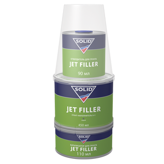 Изображение товара Грунт 3К SOLID JET FILLER серый  (560мл)