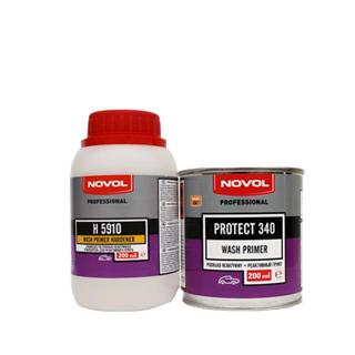 Изображение товара Грунт Novol Protect 340  Wash Primer 1:1 0.2л и отв 0.2л