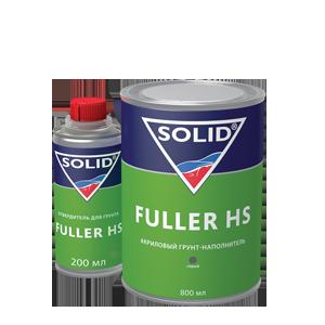 Изображение товара Грунт SOLID 4:1 FULLER HS 800 и 200мл серый