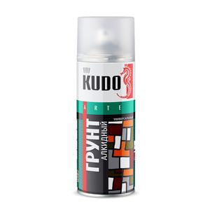 Изображение товара KUDO-2003 Грунт чёрный спрей 520мл