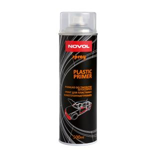 Изображение товара Грунт по пластику Novol PLASTIC PRIMER спрей 0,5л