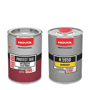 Изображение товара Грунт Novol Protect 360 эпоксидный 0,8 и 0,8кг отвердитель
