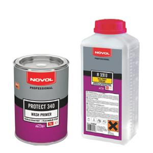 Изображение товара Грунт Novol Protect 340  Wash Primer 1:1 1л и отв.Н5910 1л