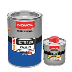 Изображение товара Грунт Novol HS Protect 310 4:1с отв.Н5520  (1л и 0,25л) серый
