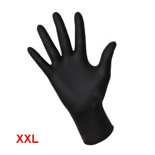Изображение товара Перчатки нитриловые REMIX чёрные XXL