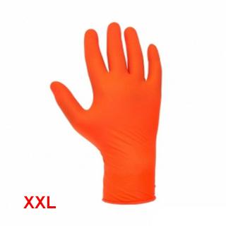 Изображение товара Перчатки нитриловые REMIX Professional оранжевые XXL