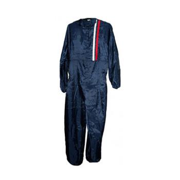 Изображение товара Комбинезон малярный TOR SF500 многоразовый, синий с капюшоном р-р L