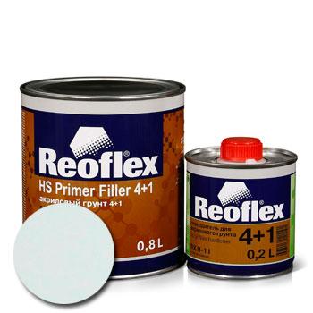 Изображение товара Reoflex Грунт HS Primer Filler 4:1 белый 0,8л