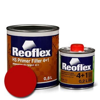 Изображение товара Reoflex Грунт HS Primer Filler 4:1 красный 0,8л