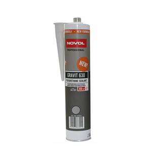 Изображение товара Герметик NOVOL GRAVIT 630 (полиуретановый) серый 310мл