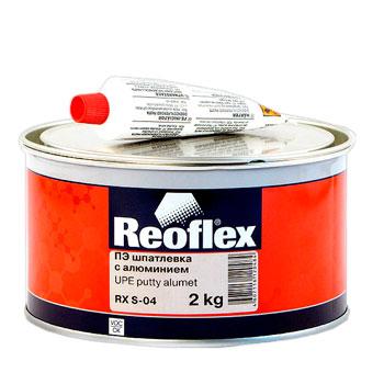 Изображение товара Шпатлевка с алюминием Reoflex Alumet RX S-04 2кг
