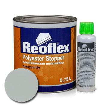 Изображение товара Шпатлевка жидкая Reoflex (0,88л) комплект с отвердителем