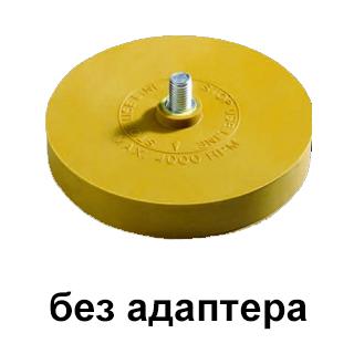 Изображение товара Диск резиновый TOR для снятия клейких лент D90мм*15мм. (без адаптера)