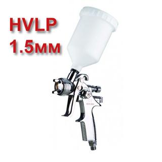 Изображение товара Краскопульт VOYLET N2000 HVLP (1,5мм) верхний бачок (2бар, 280лмин) NEW-2000