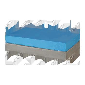 Изображение товара Брусок TOR малый F 120*70*30мм 2-х слойный жёсткий/мягкий серый/синий