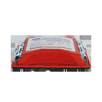 Изображение товара Шлифблок пластмасса TOR 212мм*105мм с зажимами
