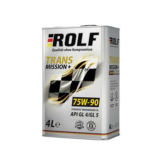Изображение товара ROLF Transmission plus SAE 75W90  API GL-4/5, 4л