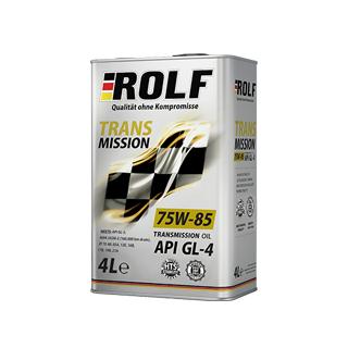 Изображение товара ROLF Transmission SAE 75W85  API GL-4, 4л