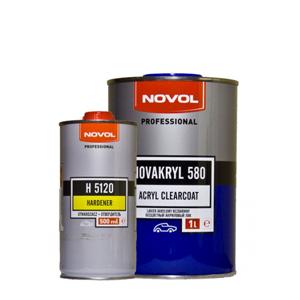 Изображение товара Лак Novol NOVAKRYL НS 2:1 1л и 0,5л (Н5120)
