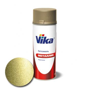 Изображение товара VIKA Металлик Колумбийская зелень 322 0,4л (аэрозоль)