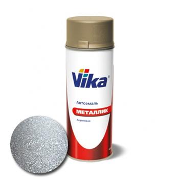 Изображение товара VIKA Металлик Серебристая 640 0,4л (аэрозоль)
