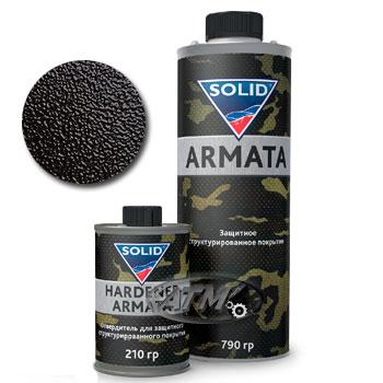 Изображение товара Защитное структурированное покрытие Solid ARMATA (Черный)